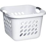 Sterilite Ultra Laundry Basket, 1.5 Bushel, White