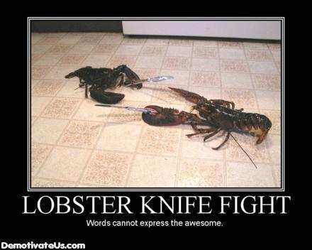 lobster-knife-fight-demotivational-poster