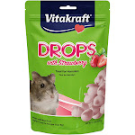 Vitakraft Drops with Strawberry for Hamsters - 5.3 oz