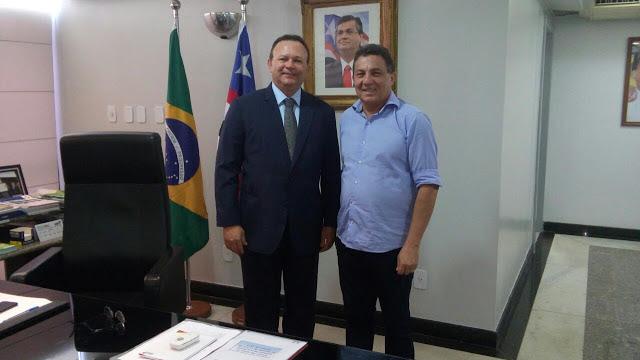 Amanhã o Prefeito Tema e Carlos Brandão, irão inaugurar pacote de obras em Tuntum