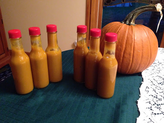 Pumpkin Hot Sauce Recipe