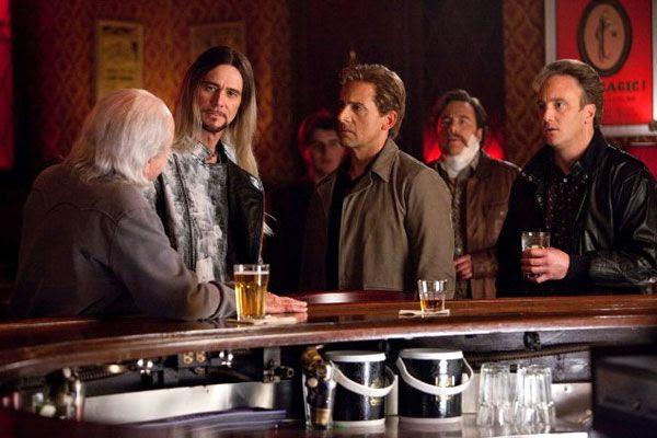 Steve Gray (Jim Carrey) confronts Rance Holloway and Burt Wonderstone in THE INCREDIBLE BURT WONDERSTONE.