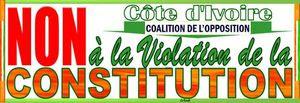 Marche de la CNC sur la Cei et la Rti : VICTOIRE DE LOPPOSITION