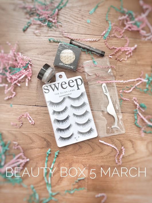 Beauty Box 5 // March Unboxing - Lash Bash! - The New Modern Momma