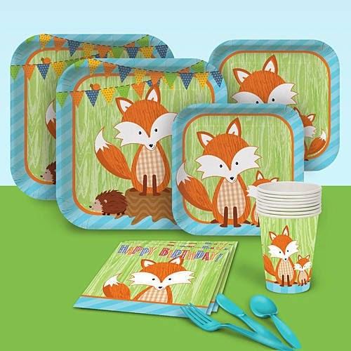 Forest Fox Birthday Party Supplies Birthday Wikii