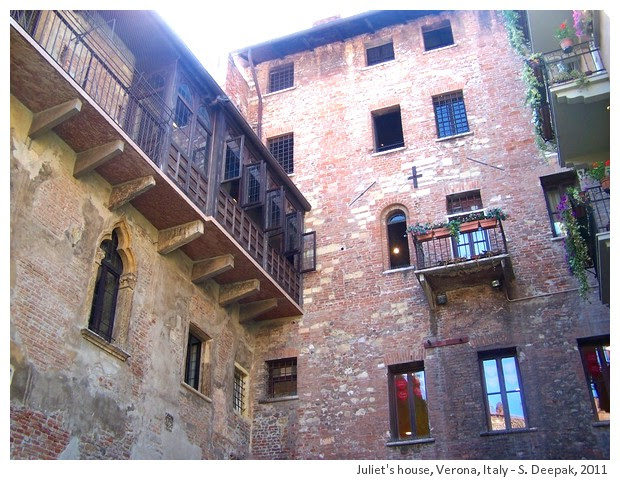 Juliet's house in Verona, Italy - S. Deepak, 2011