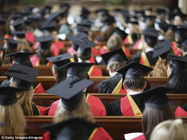 Thursday was the final day of school and many of its students took part in a graduation ceremony (file image)