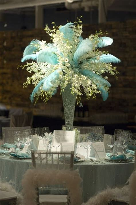 25  best ideas about Ostrich Feather Centerpieces on