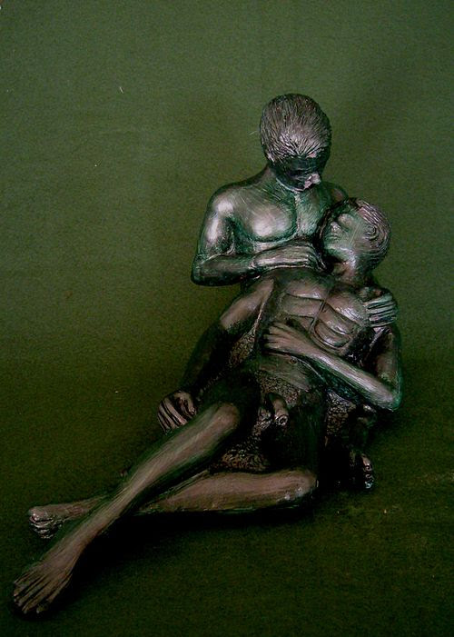 Gay Male Lovers Sculpture 2