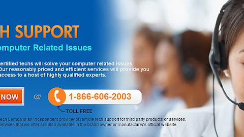Contact computer technical support number