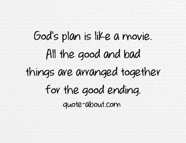 Quotes About Gods Plan For Love 53 Quotes