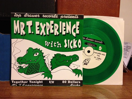 "Mr. T Experience / Sicko - Split 7"" - GREEN VINYL /100 by Tim PopKid"