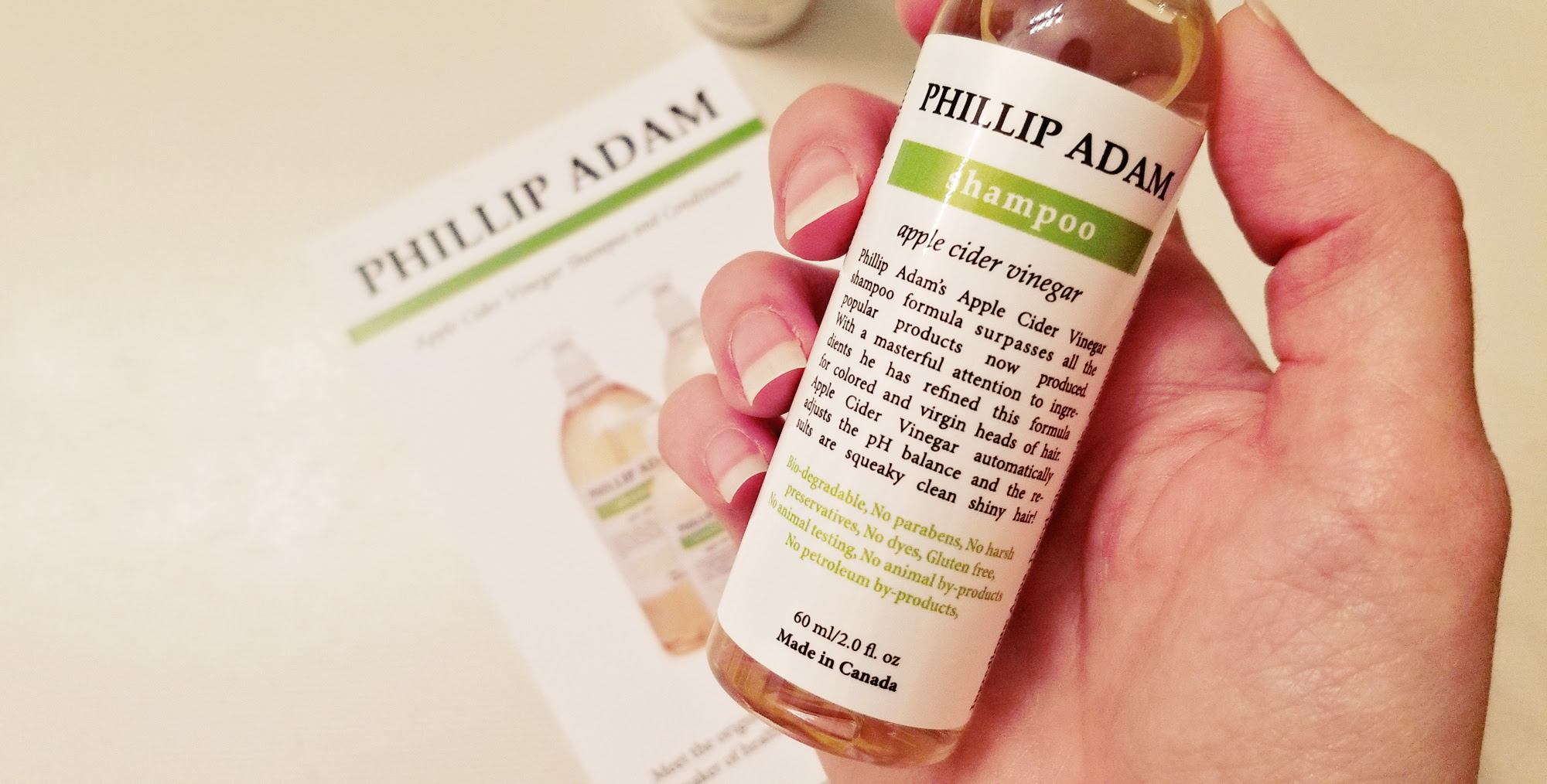 Phillip Adam: Apple Cider Vinegar Shampoo and Conditioner Review | Style Through Her Eyes
