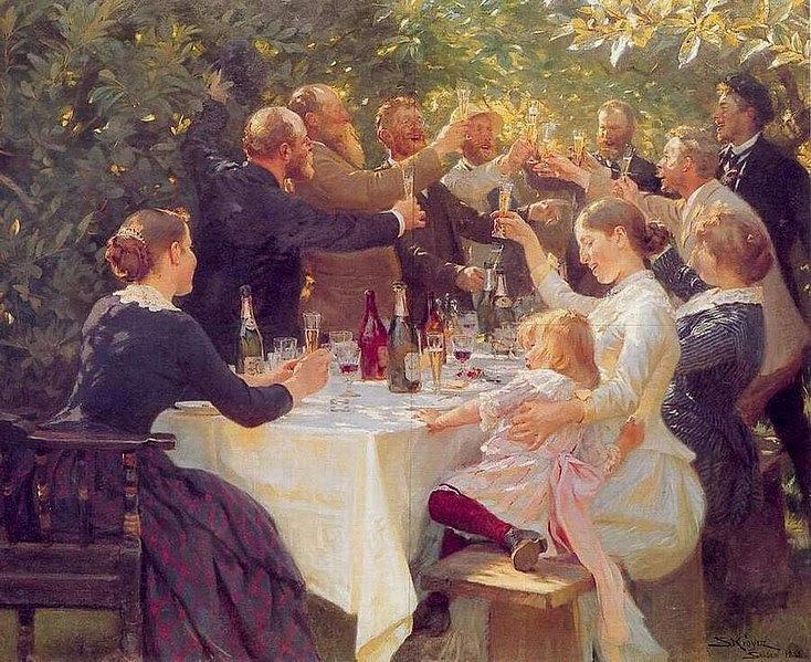 File:PS Krøyer - Hip hip hurra! Kunstnerfest på Skagen 1888.jpg