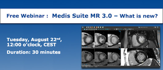 Welcome! You are invited to join a webinar: Medis Suite MR 3.0 - What is new?. After registering, you will receive a confirmation email about joining the event.