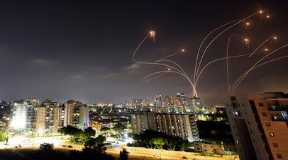 В Израиле заявили о продолжающихся 10 часов ракетных обстрелах из сектора Газа