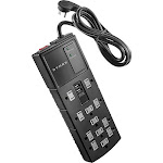 Dynex 12-Outlet/2-USB Surge Protector Strip - Black