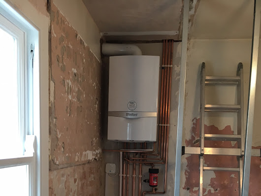 Vaillant Ecotec Plus 832 installed in Walthamstow - RJ Gas Heating Services