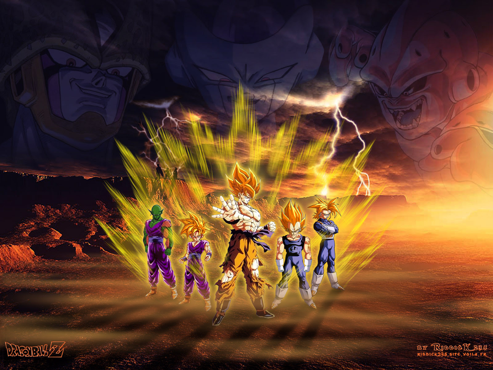 Dragon Ball Z 3d Wallpapers Sf Wallpaper
