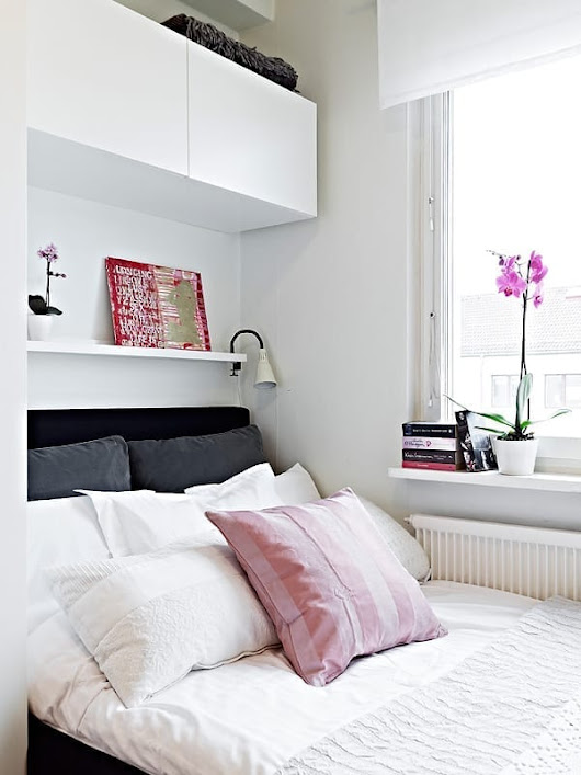 10 Easy Ways to Decorate a Small Bedroom On a Budget - Love Chic Living
