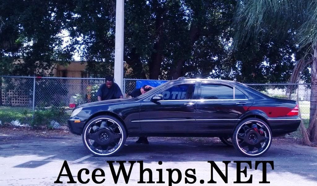 Ace 1 black mercedes benz s430 on 28 lexanis by wtw customs for Mercedes benz s430 for sale