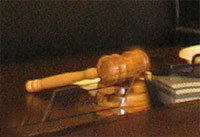 суд, молоток, председатель, заседание