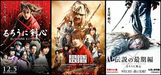 rurouni kenshin trilogy 2012 2014 720p 1080p bluray
