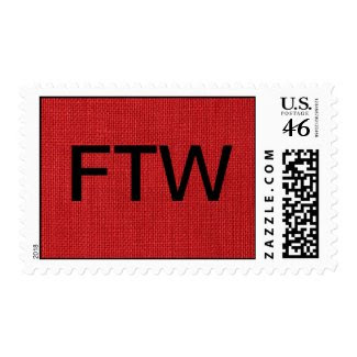 Red Linen Fabric Texture – Medium stamp