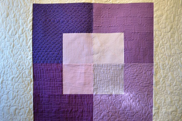 Radiant Orchid Colour Study - before washing