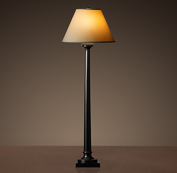 Classic Column Floor Lamp Bronze | Floor Lighting | Restoration ...
