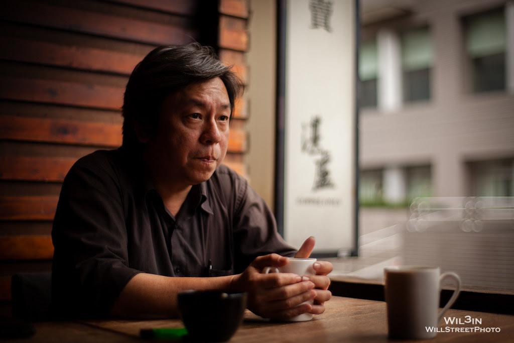 湛盧咖啡 烘豆師 廖國明