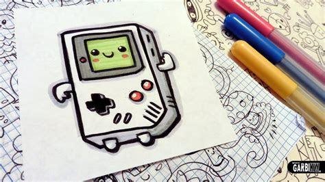 draw  cute game boy easy  kawaii drawings