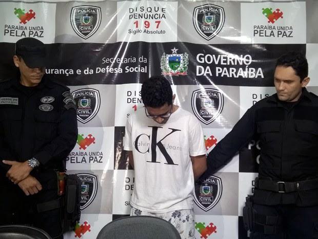 José Ricardo é suspeito de chefiar um grupo responsável por explodir bancos no Nordeste  (Foto: Diogo Almeida/G1)