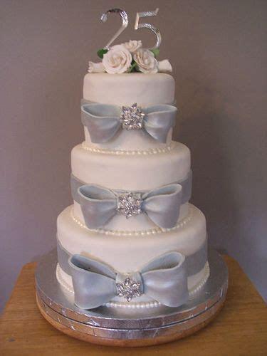 25th Anniversary Cakes on Pinterest   50th Anniversary