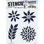 Paper Artsy - Stencil - {ELB} 005