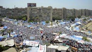 Rabaa al-Adawiya camp, Cairo