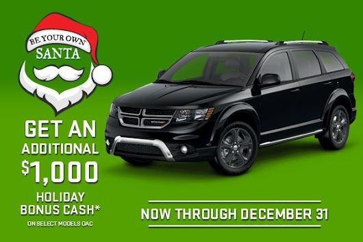 Be Your Own Santa Event | Prince George, BC | Northland Chrysler Jeep Dodge