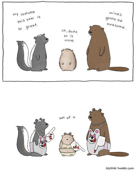My prediction for this years Halloween costumes (Liz climo) - Imgur