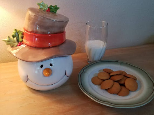 Cookie Jar Gift Idea For Snowman Collector Goodie Canister
