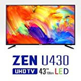 WASABI-MANGO ZEN U430, 43 Inch Real UHD (3840x2160) TV Monitor, LED, HDMI 2.0, HDCP 2.2, 10Bit, YCbCr444 [並行輸入品]