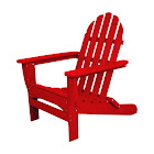 Ivy Terrace Red Polypropylene Chair - Case Of: 1; Each Pack Qty: 1