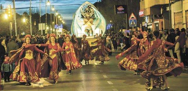 Resultado de imagen de Carnaval de Alcázar de San Juan