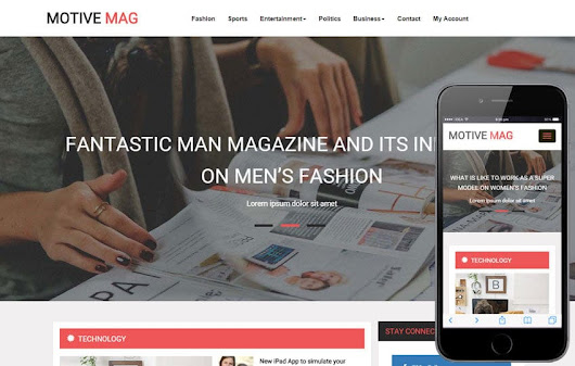 Motive Mag a Entertainment Category Flat Bootstrap Responsive Web Template by w3layouts
