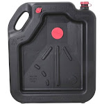 FloTool 42003MI Drain Container, 16 quart, Black