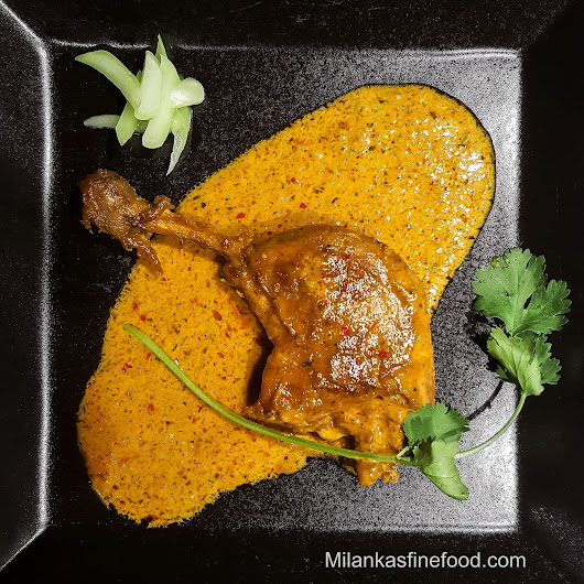 Duck Curry (With Kaffir Lime Leaves & Lime Zest) - Milanka's Fine Food
