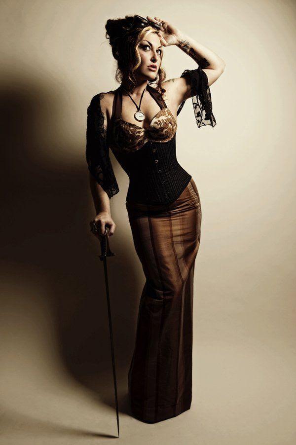 steampunkish dress