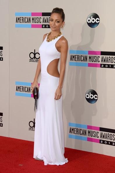 Fashion designer Nicole Richie attends the 2013 American Music Awards at Nokia Theatre L.A. Live on November 24, 2013 in Los Angeles, California.