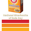 Who Knew There Was a National Bicarbonate of Soda Day?