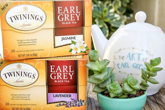 Your Favorite Twinings Tea Comes In Even More Flavors #ArtofEarlGrey