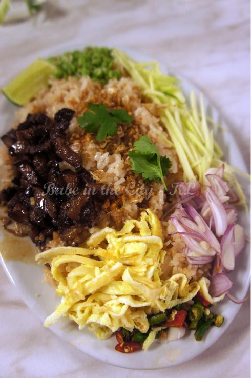 """""""Kao Klut Gapi"""" – Belacan Fried Rice (RM14.90)"""